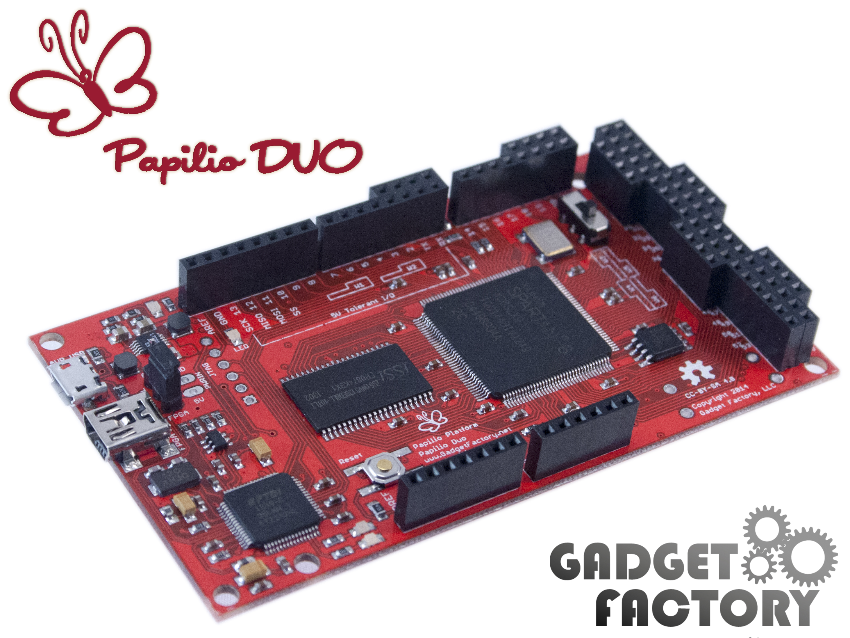 Papilioduohardwareguide Acts As An Output Of The Circuit Click To View Fullsize Picture Papilio Duo Hardware Guide
